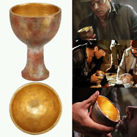 Holy Grail Indiana Jones Last Crusade Chalice Prop Cup Christ Goblet Cosplay New