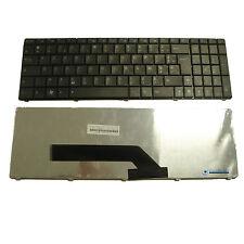 Clavier Français AZERTY noir pour ordinateur portable ASUS K72F