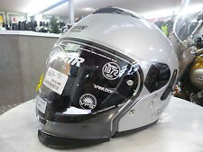 Modular Helm NOLAN N43 Air Classic, silber, Gr. XS/54