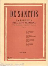 De Sanctis: La Polifonia Nell'Arte Moderna Volume III - Ricordi