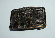 Vintage American Policeman on The Beat 1988 New NOS Great American Belt Buckle
