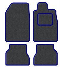Suzuki Samurai/Santana/SJ 410 Velour Anthracite/Blue Trim Car mat set