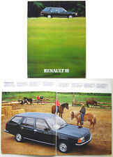 Renault 18 Estate TS LS TL TD 1980-81 UK Brochure