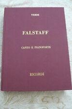 """""""FALSTAFF"""" de G.VERDI   Dédicacé par Fedora Barbieri"""