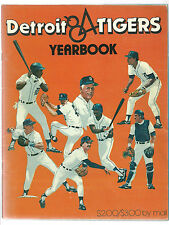 1984 Detroit Tigers Yearbook Signed x16 Alan Trammell, Lou Whitaker Autographs