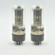 NEW SHUGUANG 6L6GC Tubes PAIR For MESA, FENDER 6L6 6L6GCR MATCHED- TESTED