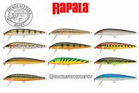 Rapala Countdown Minnow CD11 Sinking Balsa Crankbait 3/8in 9/16oz - Pick