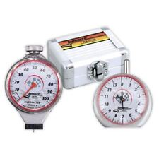Longacre 52-50556 Tire Durometer & Tread Depth Gauge With Storage Silver Case