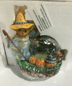Cherished Teddies Halloween BARRY BATTY OVER YOU Enesco 270016 MIB w//FREE BUTTON