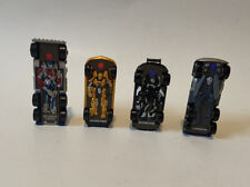 2009-2010 HASBRO TRANSFORMERS RPM COMMANDER SERIES SET OF 4 LOOSE COMPLETE