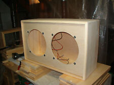 2 x 12 212 guitar extension speaker cabinet TRM  closed back unfinished project