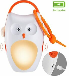 Rechargeable Baby Sleep Soother Shusher Sound Machines, White Noise Machine