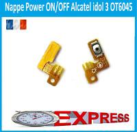NAPPE CONNECTEUR POWER  ALLUMAGE ON/OFF Alcatel IDOL 3 OT6045