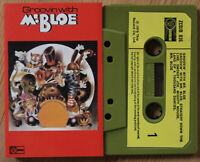 MR. BLOE - GROOVIN WITH (DJM ZCDJB036) 1970 UK CASSETTE TAPE FUNK ROCK EX COND