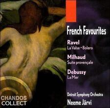 French Favourites: Ravel: La Valse; Bolero / Debussy: La Mer / Milhaud: Suite pr