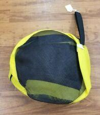 "GMC Mesh Scuba Dive Regulator Carry Bag Nylon 12"" Round Yellow Made in The USA"