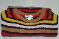 $138 NWOT 1901 Women's 100% Cashmere Crew Neck Pullover Warm Sweater Size XL .