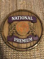 "Vintage National Premium Advertising Sign (15"" Diameter X 3"" Thick)"