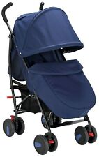 Cuggl Maple 3 Position Forward Facing Foldable Pushchair & 4 Accessories - Navy