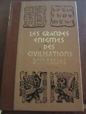 Paul Ulrich: les grandes énigmes des civilisations disparues/ Ed. de Crémille