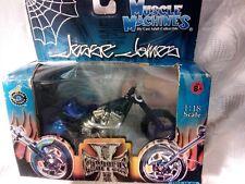 New in Box Jesse James West Coast Choppers El Diablo 2 Motorcycle  1:18 Purple