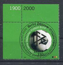 Bund Mi-Nr 2091  Ecke 1 (110) -100 J.Dt.Fussballbund-  ESST Berlin 2000
