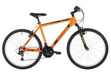 Bicicleta de montaña naranja de aluminio