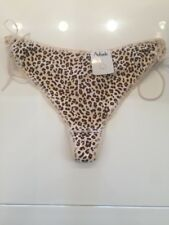 STRING AUBADE LEOPARD C626 TAILLE 44