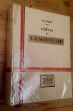 Précis de dermatologie - B.Duperrat Masson et Cie 1959