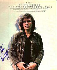 Kris Kristofferson autographed 8x10 #2 Free Shipping