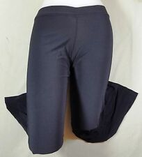 NWT Pumpers Black Cotton/Nylon Dance Tights  Adult S