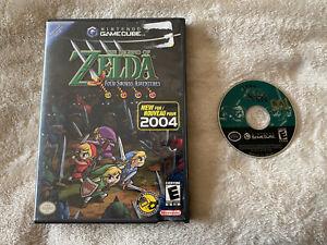 Legend of Zelda Four 4 Swords Adventures Nintendo GameCube Good Disc Game Case