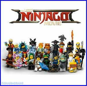 The Lego Ninjago Movie Minifigures 71019 - Choose Your Minifigure