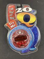 Radica 20Q 20 Questions Handheld Electronics Game Orange Version Sealed NIP read