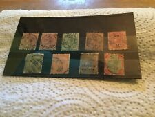 India QV Used Stamps Lot