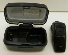 Samsung WEP200 Bluetooth Wireless Phones Headset w Case and Charger working 100%