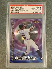 2000 Finest BALLPARK BOUNTIES Andruw Jones ATLANTA BRAVES GEM MINT 10 POP 1 WOW!