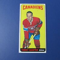 TERRY HARPER 1964-65 Topps  # 3  Montreal Canadiens  1964  1965  64-65  NM ++