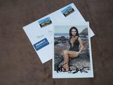 Karin DOR (+2017) James Bond, Winnetou - original autogramm, Foto 10x15 cm+cover