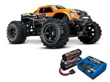 Traxxas X-MAXX 4WD BLS Monstertruck TSM orange + 8S LiPo, Lader - 77086-4ORNSET1