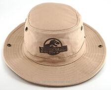 NEW Universal Studios Park - Jurassic World Outlander Safari Hat Cap Tan Khaki