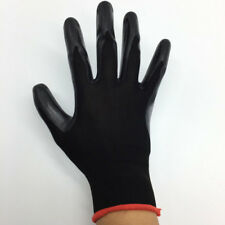 1Pair Nitrile Coated Working Gloves Nylon Safe Labour Factory Garden Repair CN