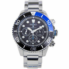 Seiko SSC017P1 Chronograph Date Divers 200m Solar Mens Watch Authentic Working