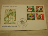 1966 Germany First Day Cover Wohlfahrtsdmarfen Frog into Prince