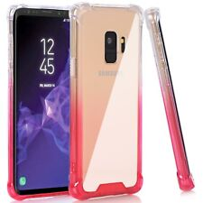 For Samsung Galaxy S9 Case TPU Clear Shock Absorption Flexible Bumper Cover Soft