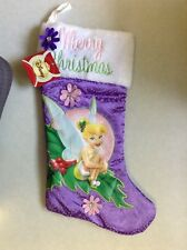 Brand He With Tag Disney Tinkerbell Christmas Stocking Holiday