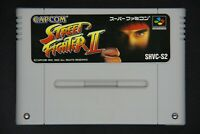 Street Fighter II 2 Nintendo Super Famicom Cartridge Only Japan Import Game