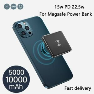 5000mAh Magsafe Mini Power Bank Magnetic Wireless Charger iPhone 12 Pro Max 20W