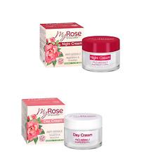 Anti Wrinkle Night & Day Creams Hyaluronic Regenerating Paraben Free Antioxidant