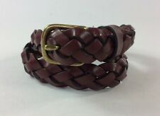 """Gap S/M,(appx 20"""" Child, Braided Brown Leather Belt, 3/4""""W, age 0 -2 Years, Nwt"""